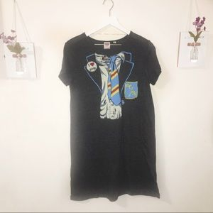 Junk Food | AC/DC Tshirt Dress | M
